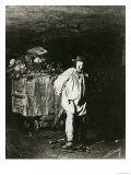 Interior of Catacombs, Paris, 1861 Giclee Print by  Nadar