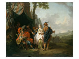 The Abduction of Briseis from the Tent of Achilles, 1773 Giclee Print by Johann Heinrich Tischbein