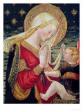 Virgin and Child Giclee Print by Neri Di Bicci