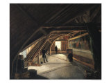 The Attic of a Museum Giclee Print by Etienne Bouhot