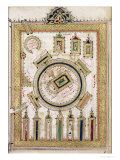"The Great Mosque of Mecca, from ""Dalail Al Khairat"" Premium Giclee Print"
