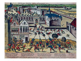 The Haultepenne Fury in 1581 Giclee Print by Franz Hogenberg