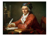 Portrait of Alphonse Leroy, 1783 Giclee Print by Jacques-Louis David