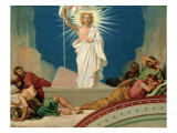 Study for the Resurrection of Christ, 1860 Giclee Print by Hippolyte Flandrin