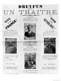 Dreyfus Est Un Traitre, Giclee Print