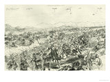 The Battle of Tamai on 13th March 1884, 1884 Giclee Print by Melton Prior
