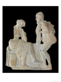 Relief Depicting Odysseus and Penelope, from Milo, circa 450 BC Giclee Print
