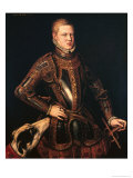 King Sebastian of Portugal, circa 1571 Giclee Print by Cristovao Do Moraes