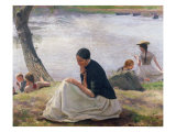 Souvenir, 1891 Giclee Print by Emile Friant