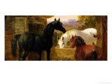Farmyard Scene Giclee Print by John Frederick Herring II
