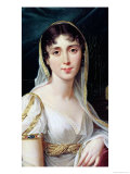 Desiree Clary Queen of Sweden, 1807 Giclee Print by Robert Lefevre