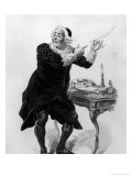 "Bartholo, Illustration from Act II Scene 11 of ""The Barber of Seville"" Giclee Print by Emile Antoine Bayard"