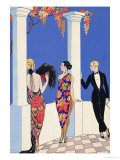 The Taste of Shawls, 1922 Reproduction proc&#233;d&#233; gicl&#233;e par Georges Barbier