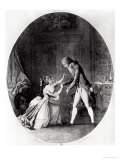 Valmont Seducing Madame de Tourvel Giclee Print by Niclas II Lafrensen
