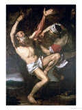 The Martyrdom of St. Bartholomew Giclée-tryk af Jusepe de Ribera