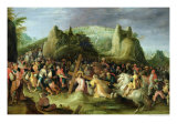 Christ on the Road to Calvary Giclee Print by Frans Francken the Younger