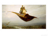 The Magic Carpet, 1880 Premium Giclee Print by Apollinari Mikhailovich Vasnetsov