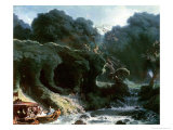 The Fete at Rambouillet Or, the Island of Love, circa 1770 Giclee Print by Jean-Honoré Fragonard