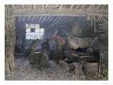 The Forge at Marly-Le-Roi, Yvelines, 1875 Giclee Print by Alfred Sisley