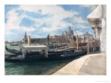 The Grand Canal, Venice, 1888 Giclee Print by Jean-Louis Ernest Meissonier