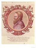 """The Philosopher Aristotle, from """"Veterum et Recentium Medicorum Philosophorumque Icones"""" 1574 Giclee Print"""