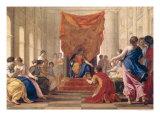 Poliphilus Kneeling Before Queen Eleuterylida, circa 1643-44 Giclee Print by Eustache Le Sueur