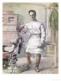 Military Dentist at the American Hospital of St. Nazaire, 1918 Giclee Print by Georges Eveillard