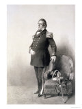 "Commodore Matthew Calbraith Perry from ""Graphic Scenes in the Japan Expedition"" Giclee Print by Wilhelm Heine"