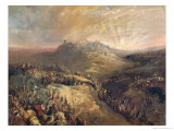 The Crusaders Before Jerusalem Giclee Print by Eugenio Lucas Velazquez