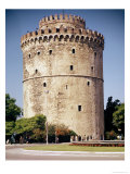 The White Tower, Built During the Reign of Suleiman the Magnificent Giclee Print
