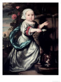 Young Girl at a Fountain, 1662 Giclee Print by Nicholaes Maes
