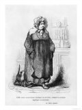 "Madame Vauquer, Illustration from ""Le Pere Goriot"" by Honore de Balzac Giclee Print by Albert D'Arnoux (Bertall)"