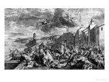 The Plague of 1720 in Marseilles 1727 Giclee Print by Jean Francois de Troy