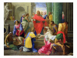 Miracles of St. Paul at Ephesus, 1693 Premium Giclee Print by Jean Restout