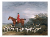 Out Hunting, 1841 Giclee Print by Richard Barrett Davis
