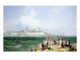 A View of Margate from the Pier, 1868 Giclee Print by James Webb