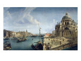 Entrance to the Grand Canal and Santa Maria Della Salute, Venice Giclee Print by Michele Marieschi