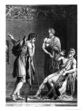 Orestes and Pyrrhus, Illustration from Act I Scene 2 of 