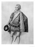 "Count Almaviva, Illustration from Act V of ""The Barber of Seville"" Giclee Print by Claude Louis Desrais"