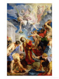 The Stoning of St. Stephen, from the Triptych of St. Stephen Giclee Print by Peter Paul Rubens