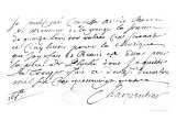 "Letter Regarding the Music Composed by Charpentier for ""Psyche"" by Moliere 1684 Giclee Print by Marc-antoine Charpentier"