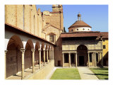 View of the Cloisters and the Pazzi Chapel, 1429-46 Giclee Print by Filippo Brunelleschi