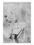 Monk Giclee Print by Antonio Pisani Pisanello