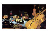 Still Life with Musical Instruments, 1623 Impression giclée par Pieter Claesz