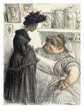 An Abortionist, from &quot;L&#39;Assiette au Beurre&quot;, 1902 Giclee Print by Charles Leandre
