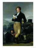 Portrait of Don Francisco de Borja Tellez Giron circa 1816 Giclee Print by Francisco de Goya