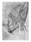 Head of a Bishop Giclee Print by Antonio Pisani Pisanello