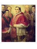 Pope Pius IX 1847 Giclee Print by Jose Galofre Y Coma