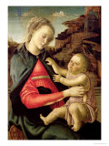 The Virgin and Child circa 1465-70 Giclee Print by Sandro Botticelli
