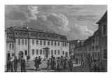 The House of Johan Wolfgang Von Goethe in Weimar, 1827-28 Giclee Print by Otto Wagner